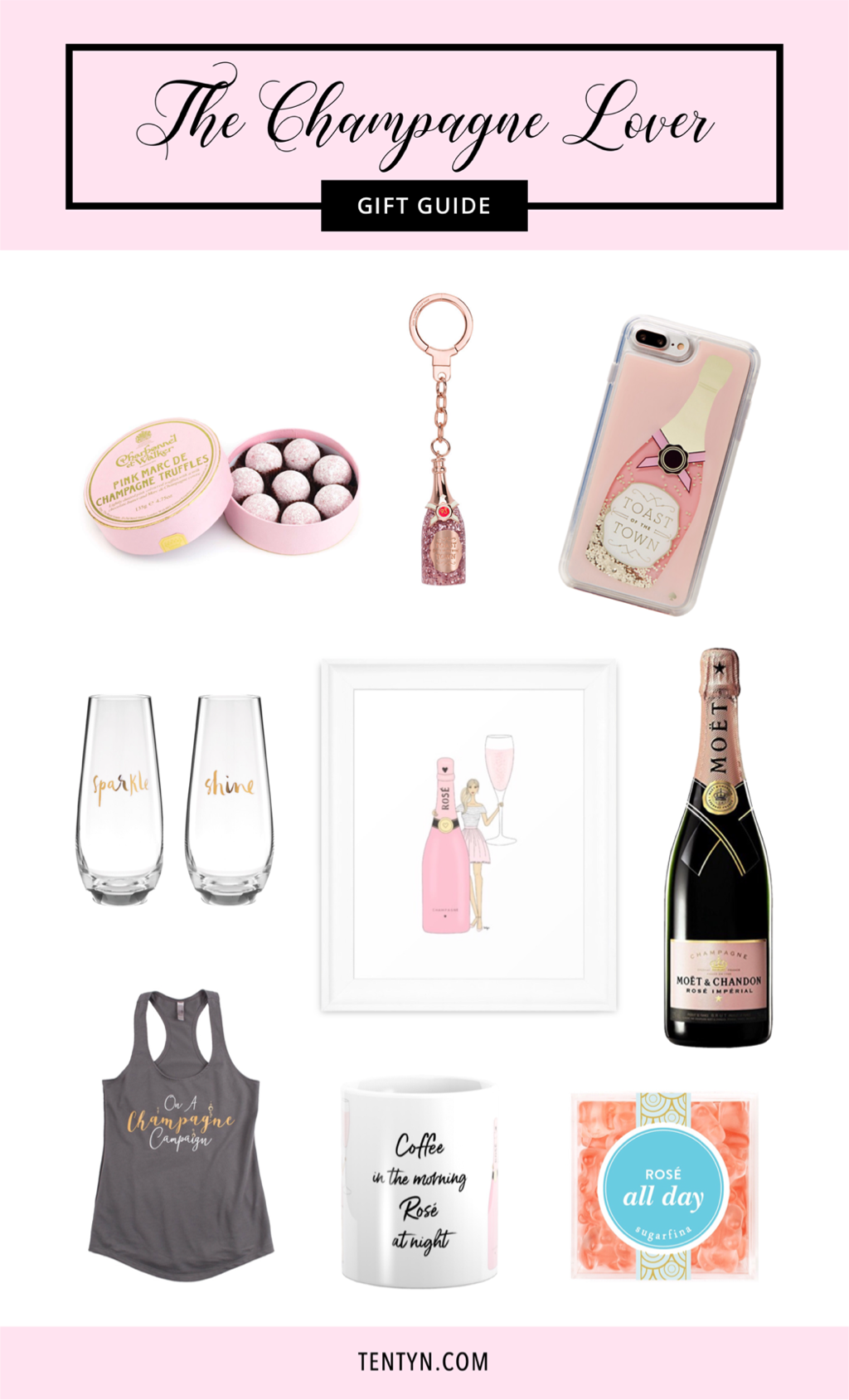 Champagne gift guide